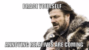 How To Deal With Annoying Relatives