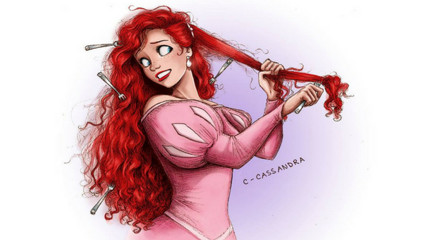 Here's What Disney Princesses Would Look Like With Curly Hair